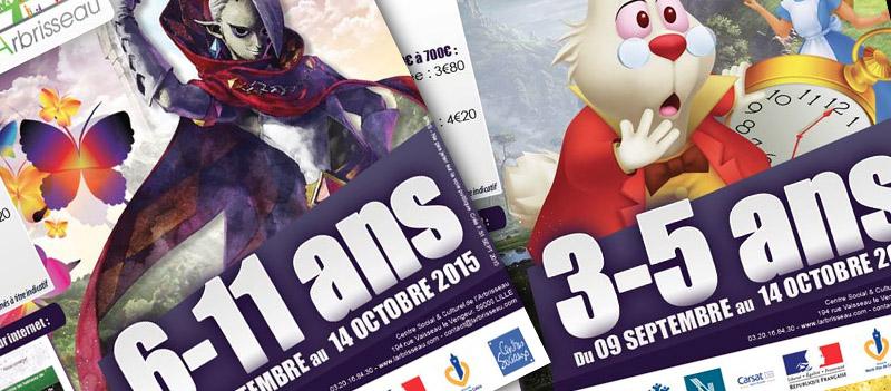 3/11 ans : L'agenda pour Septembre/Octobre