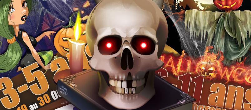 3/17 ans : L'agenda pour les vacances d'Halloween