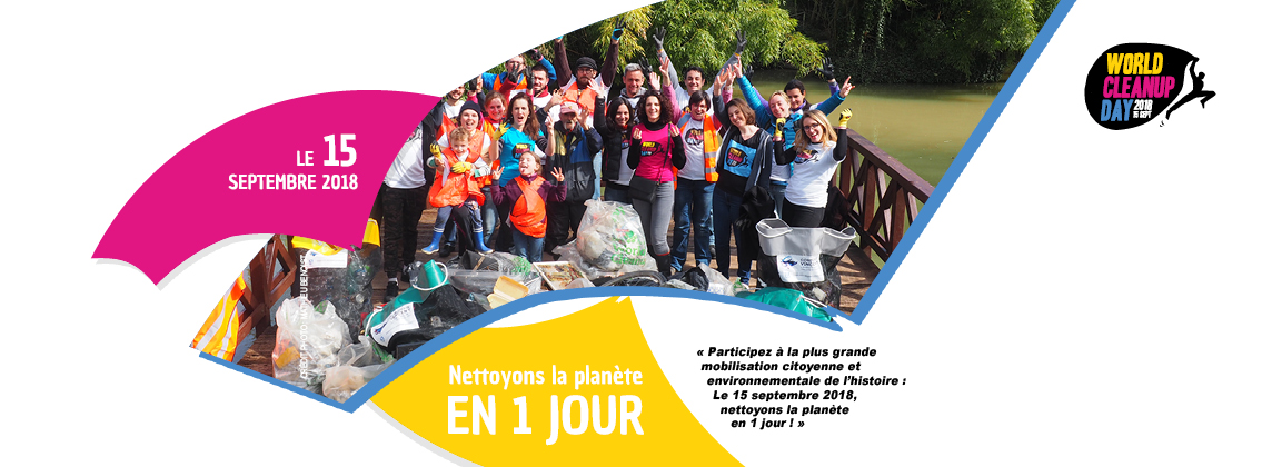 Ne manquez pas le World Cleanup Day