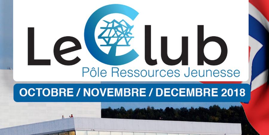 L'Agenda du Pôle Ressources Jeunesse