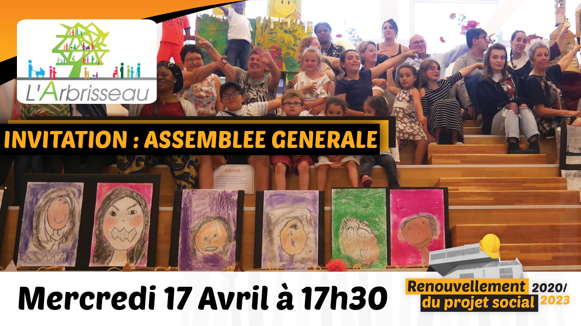 Assemblée Générale mercredi 17 Avril
