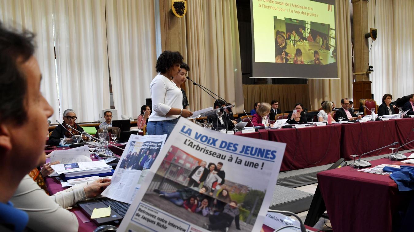 «La Voix des Jeunes», un journal réalisé par des ados du centre social